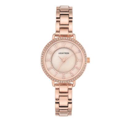 Armitron Womens Gold Tone Bracelet Watch-75/5471tmrg