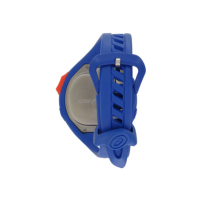 Asics Ar07 Runner Unisex Blue Strap Watch-Cqar0702y