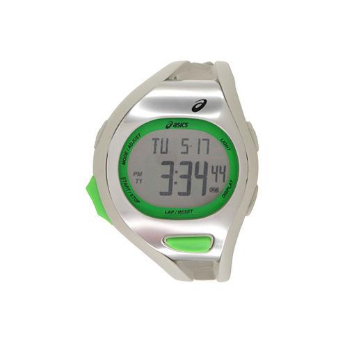 Asics Ar07 Runner Unisex White Strap Watch-Cqar0712y