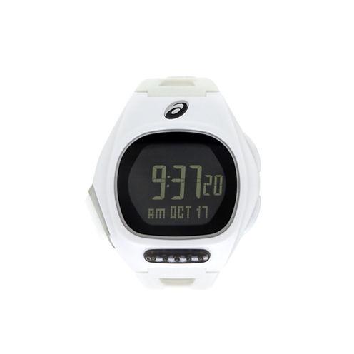 Asics Ar10 Runner Unisex White Strap Watch-Cqar1002y