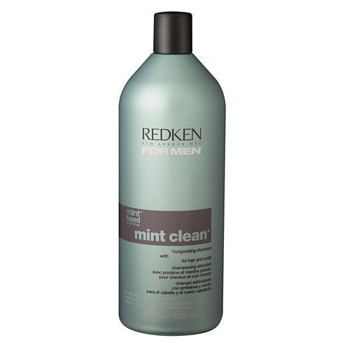 Redken For Men Mint Clean Shampoo - 33.8 oz.