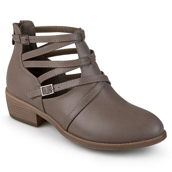 Journee Collection Womens Savvy Booties Block Heel
