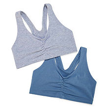 2f8cf8a4badb8 Hanes X-Temp® Comfy Support 2ply Pullover 2-Pack Wireless Racerback Unlined  Full