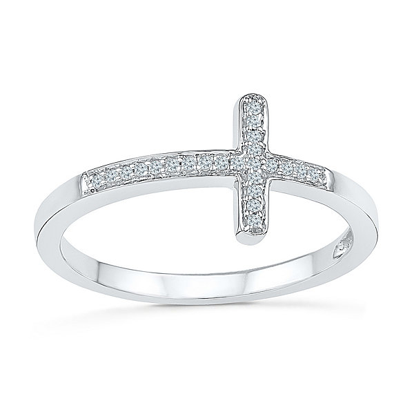 yes band white said wedding diamond platinaire i accent p womens