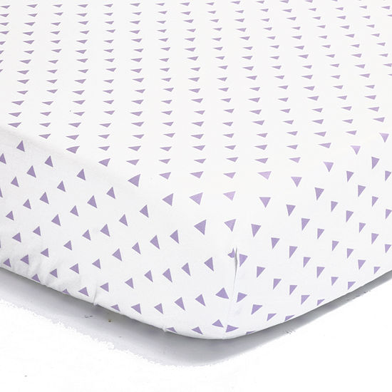 The Peanut Shell Peanut Shell Mix And Match Geometric Crib Sheet