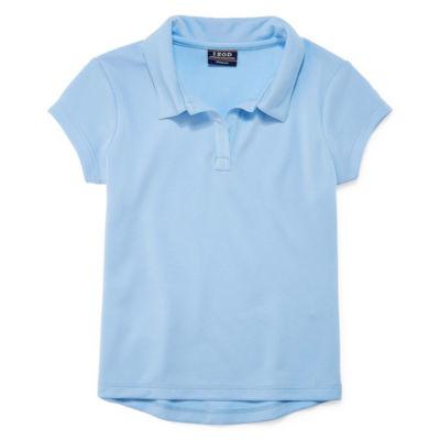 Izod Exclusive Short Sleeve Pique Polo Shirt - Preschool Girls