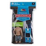 Fruit of the Loom Breathable 3 Pack Boxer Briefs