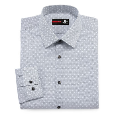 JF J. Ferrar® Long-Sleeve Stretch Dress Shirt