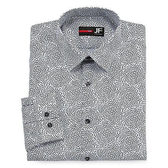 Jferrar Stretch Long Sleeve Dress Shirt