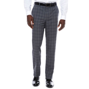 Men's J.Ferrar Stretch Woven Flat-Front Slim Fit Suit Pants