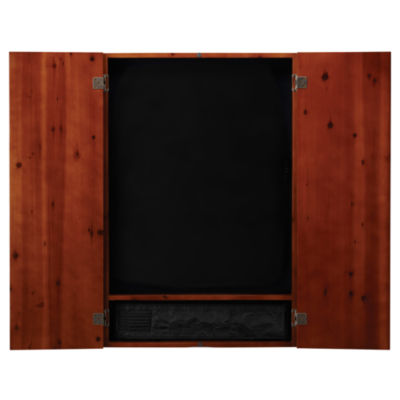 Viper Metropolitan Cinnamon Soft Tip Dartboard Cabinet