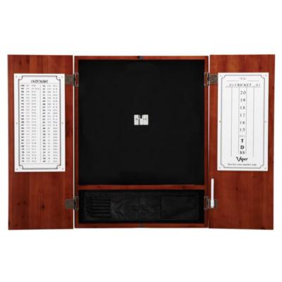 Viper Metropolitan Cinnamon Steel Tip Dartboard Cabinet