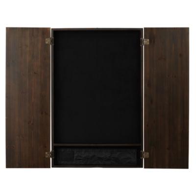 Viper Metropolitan Espresso Soft Tip Dartboard Cabinet