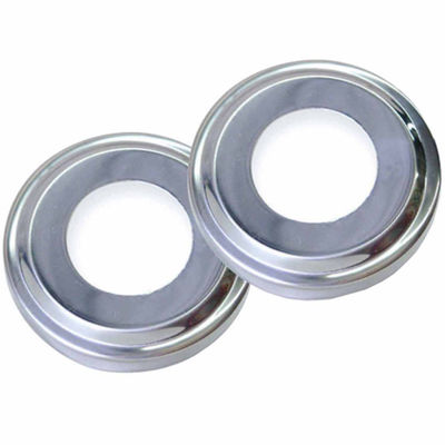 Swimline Stainless Steel Escutcheons for Pool Handrail - Pair