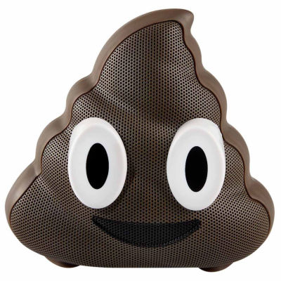 Jamoji Chocolate Swirl Poop Emoji Wireless Bluetooth Speaker