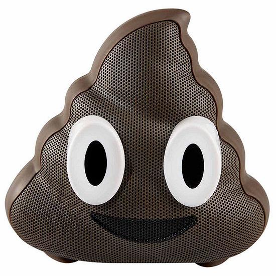 Jamoji Chocolate Swirl Poop Emoji Wireless Bluetooth Speaker