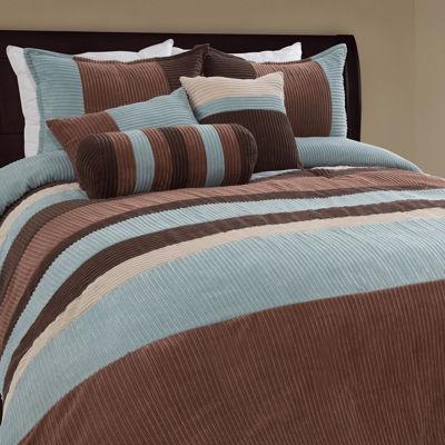 Hudson Street Geo Midweight Comforter Set