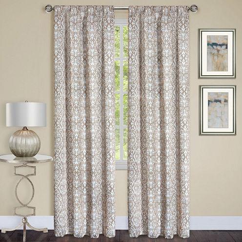 Madison Room Darkening Rod-Pocket Curtain Panel