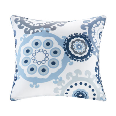 Madison Park Printed Medallion Square Outdoor Pillow