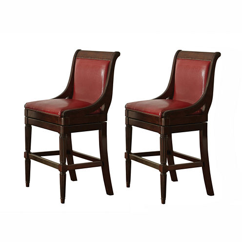 Franklin 2-pc. Upholstered Bar Stool
