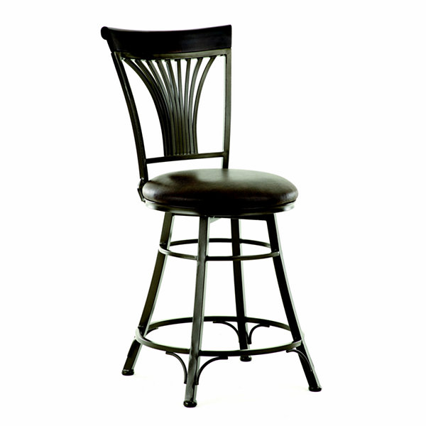 Harold Counter Height Upholstered Bar Stool