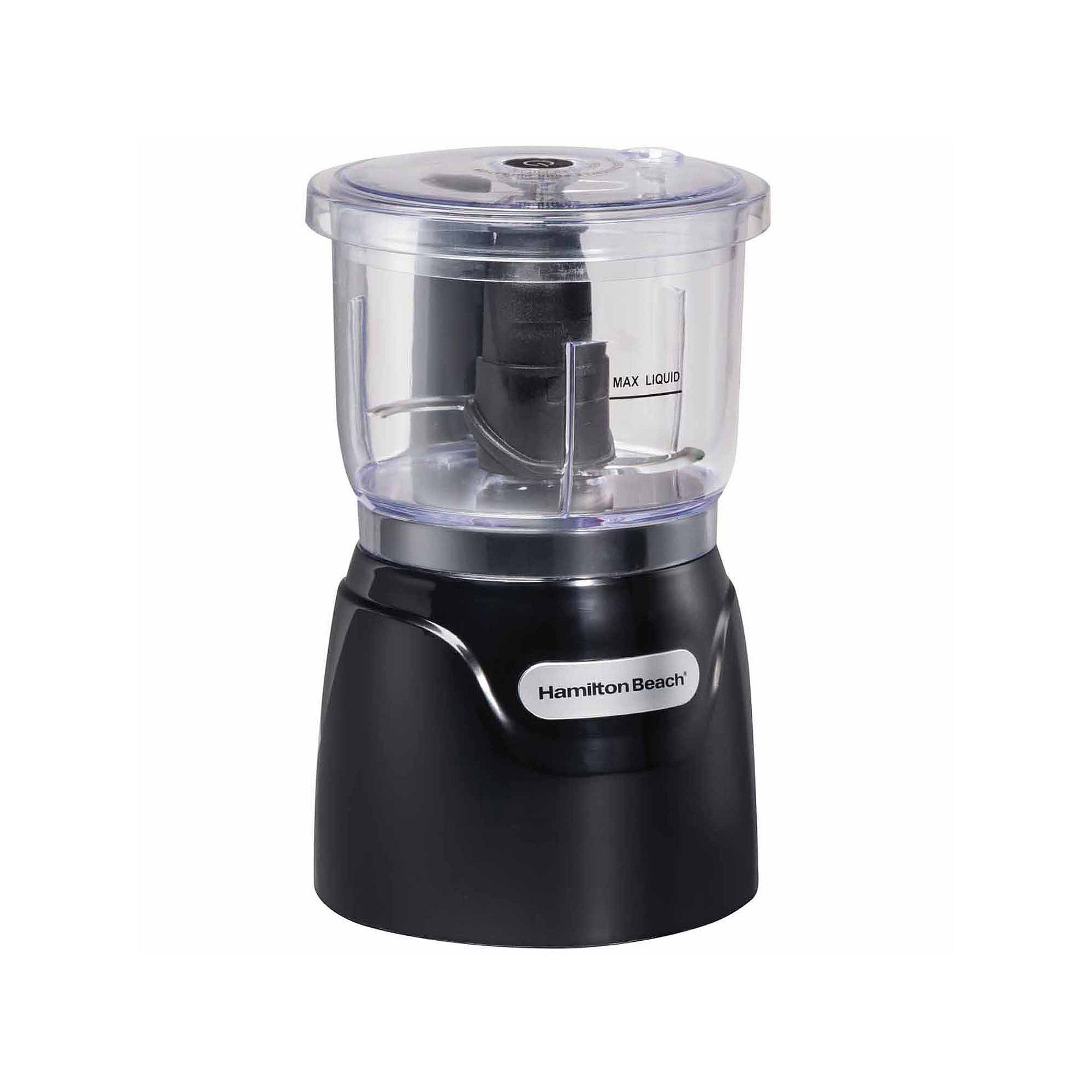 Hamilton Beach Stack & Press 3 Cups Food Processor