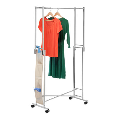 Honey-Can-Do® Steel Double Folding Garment Rack