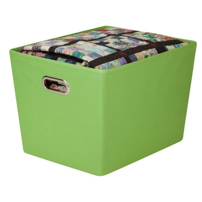 Honey-Can-Do® Large Decorative Storage Bin