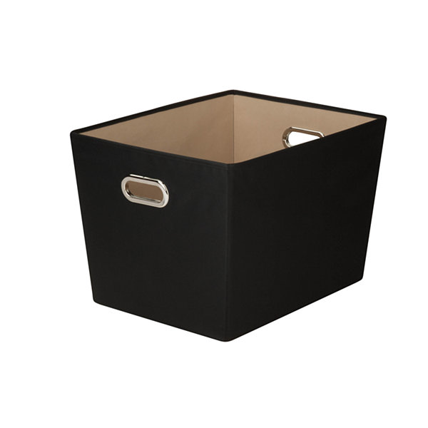 Honey-Can-Do® Large Decorative Storage Bin With Handles