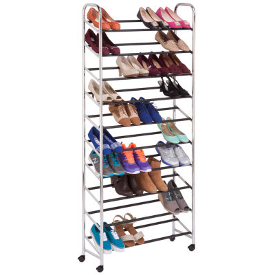 Honey-Can-Do® Rolling Shoe Tower