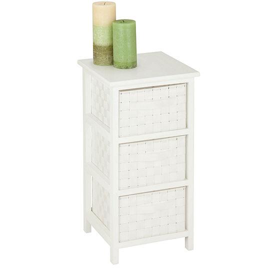 Honey-Can-Do® 3-Drawer Storage Chest
