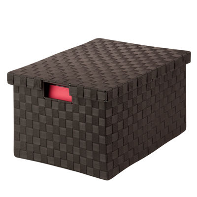 Honey-Can-Do® Large Woven File Box