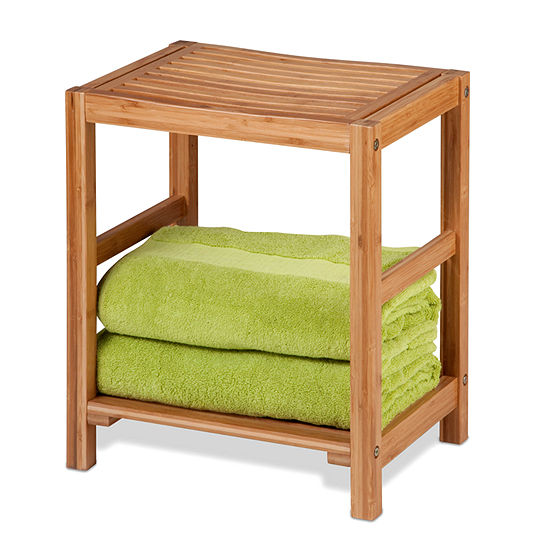 Honey-Can-Do® Bamboo Spa Bench