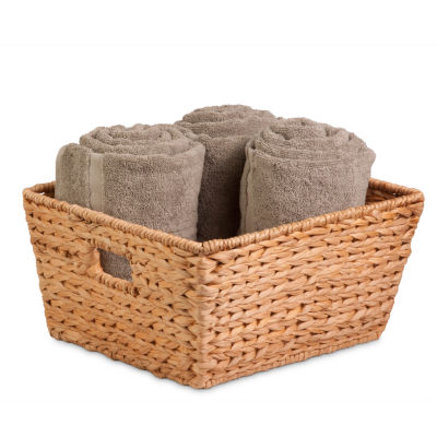 Honey-Can-Do® Large Water Hyacinth Basket