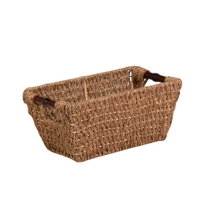 Honey-Can-Do® Small Seagrass Basket with Handles