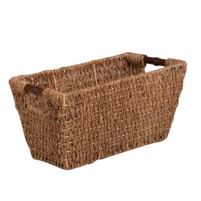 Honey-Can-Do® Medium Seagrass Basket with Handles