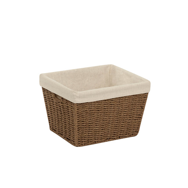 Honey-Can-Do® Paper Rope Basket + Liner