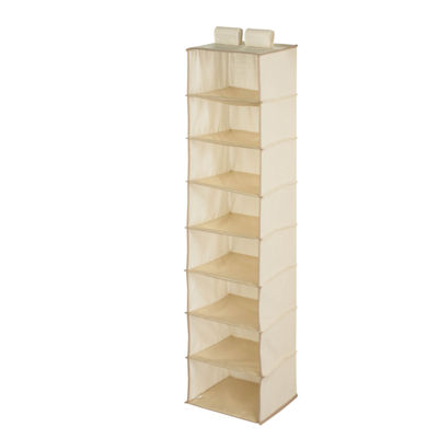 Honey-Can-Do® 8-Shelf Beige Hanging Organizer