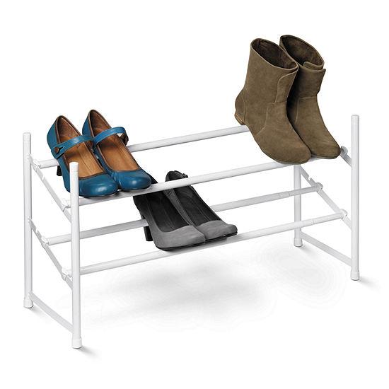 Honey-Can-Do® 2-Tier Expandable Shoe Rack