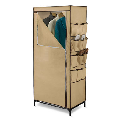 Honey-Can-Do® Clothing Storage Closet w/ Shoe Organizer