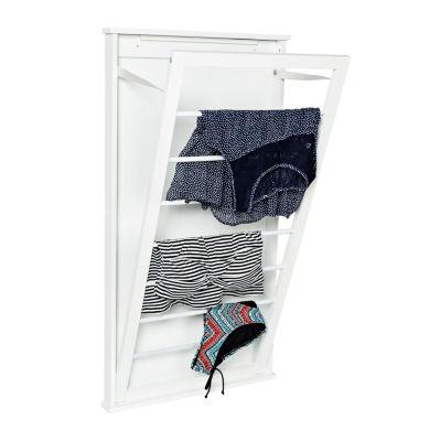 Honey-Can-Do® Vertical Dual-Wall Mount Drying Rack