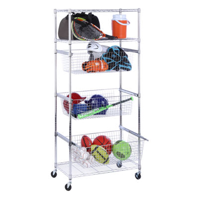 Honey-Can-Do® Sports Equipment 3-Shelf Organizer
