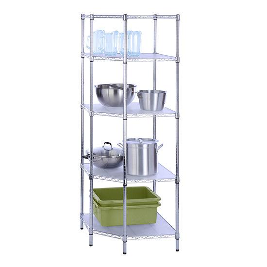 Honey-Can-Do® 5-Tier Corner Shelf