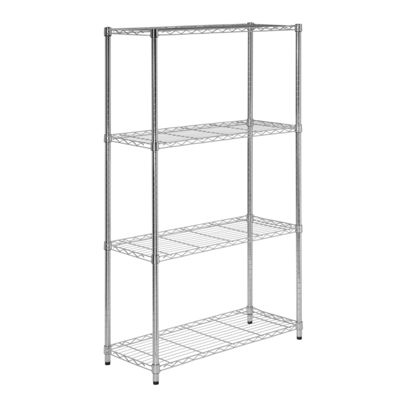 Honey-Can-Do® 4-Tier Commercial Grade Adjustable Storage Shelves
