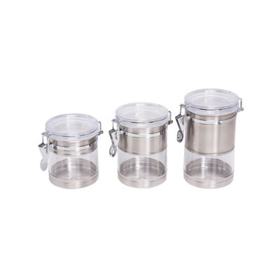 Honey-Can-Do® 4-pc. Storage Canister Set