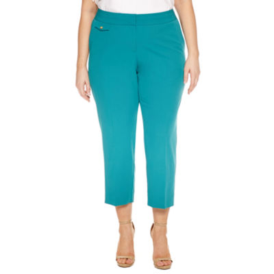 Worthington Cropped Pants-Plus