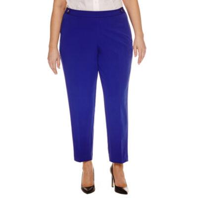 Worthington Modern Fit Ankle Pants-Plus