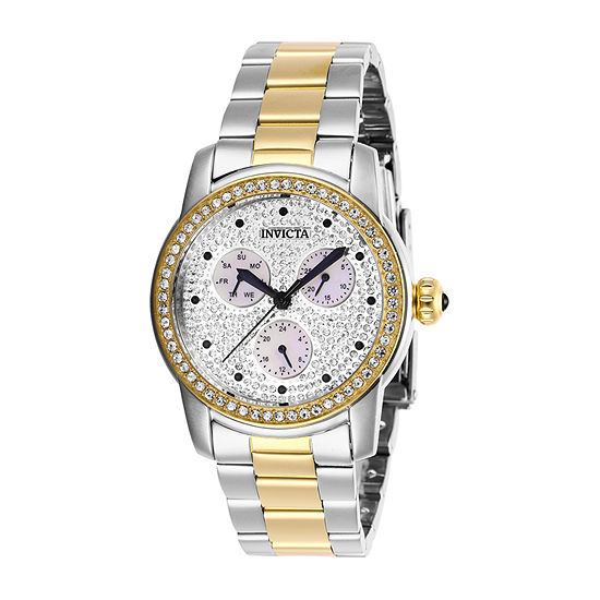 Invicta Angel Womens Two Tone Stainless Steel Bracelet Watch-28467
