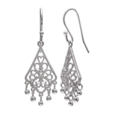 Silver Treasures Drop Earrings