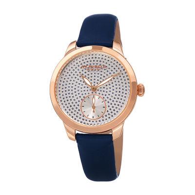 Akribos XXIV Womens Blue Strap Watch-A-1089bu